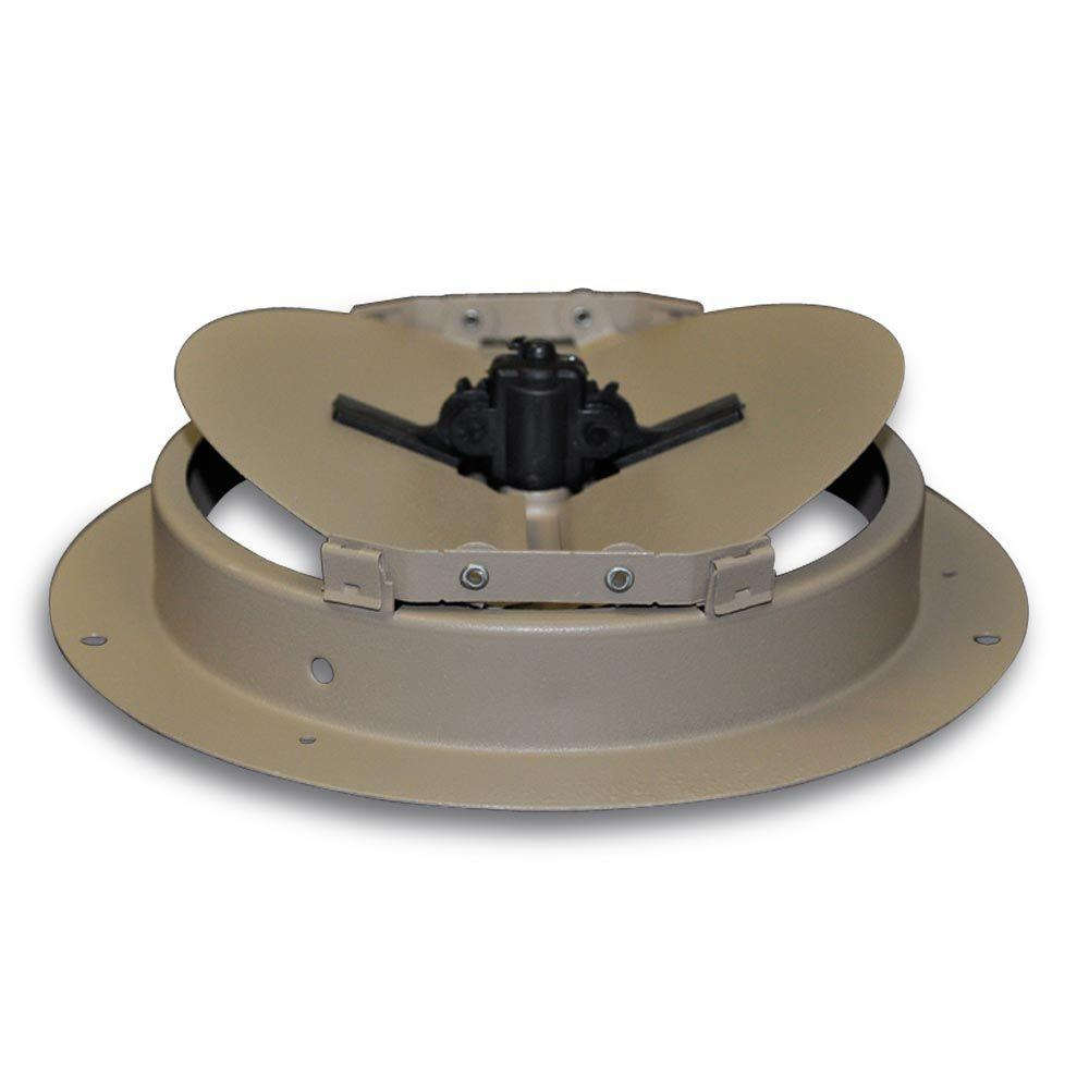 Truaire 6 In Round Diffuser Damper H801 06 The Home Depot