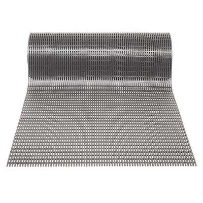 Airpath Dark Grey 2 ft. x 30 ft. PVC Anti Fatigue and Safety Rug Runner