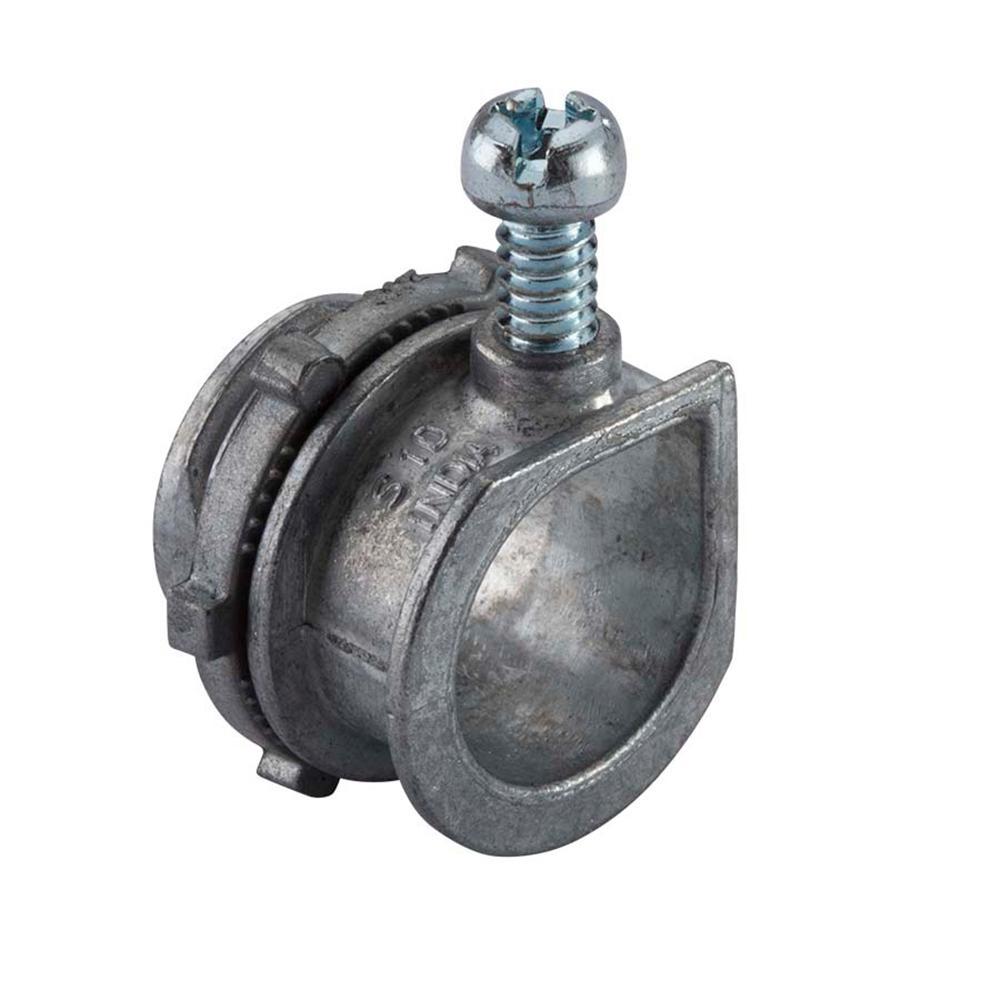 3/8 in. Flexible Metal Conduit (FMC) Conduit Connector (5-Pack)