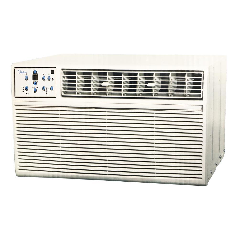 Midea 15,100 BTU 115-Volt Window Air Conditioner With Remote in White