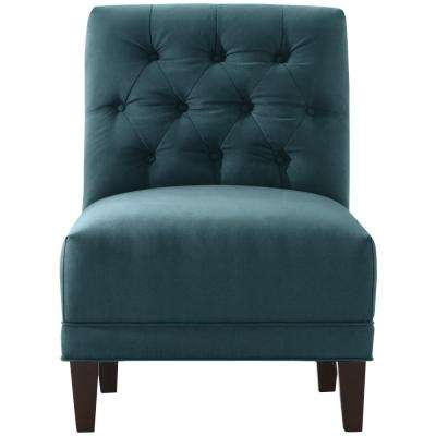 Lakewood Bella Lagoon Tufted Arm Chair
