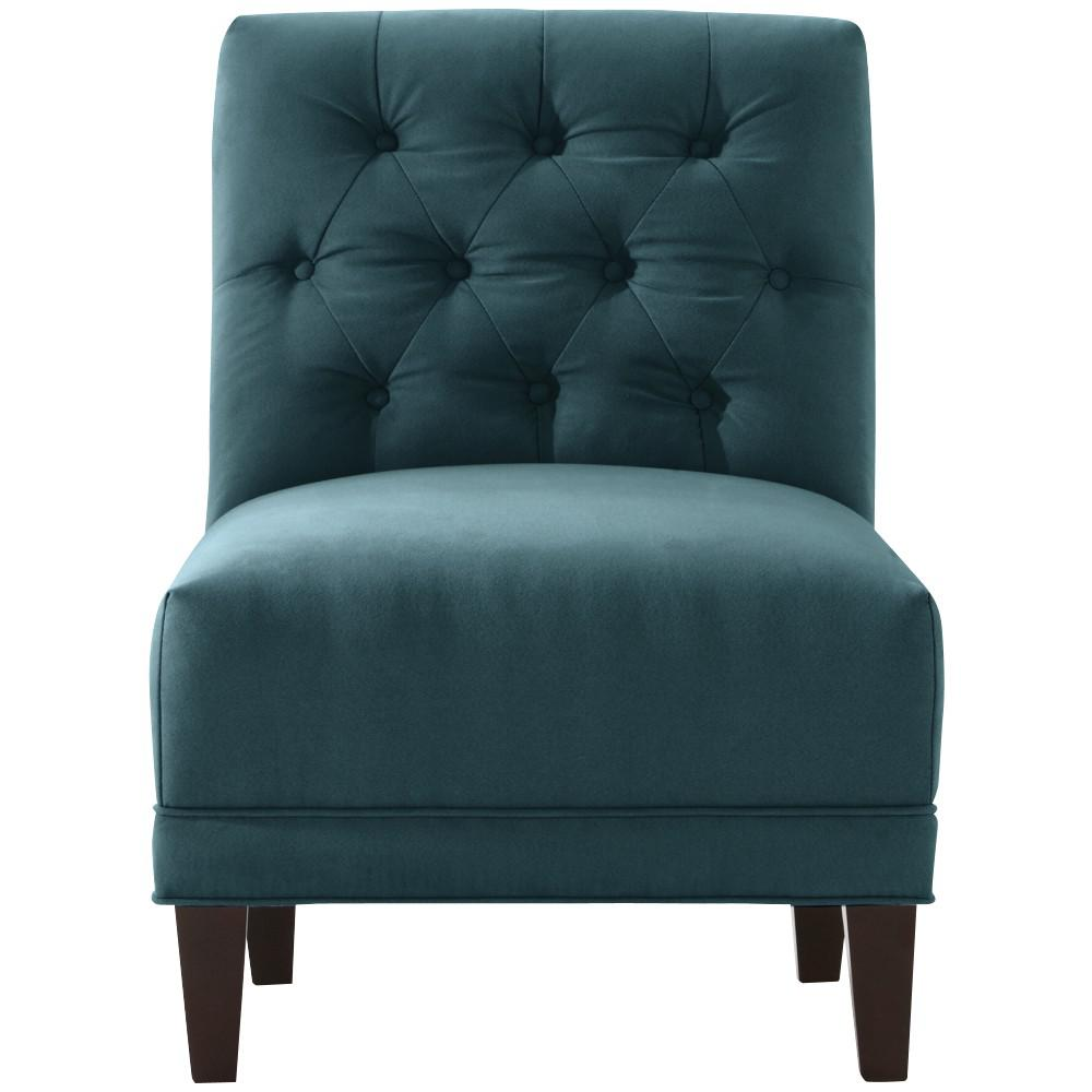 Teal Chair Blue Chairs Living Room Furniture The Home Depot