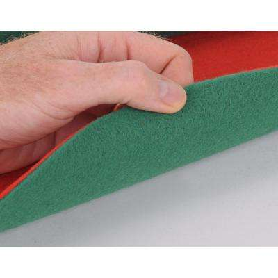 30 in. Reversible Red/Green Floor Protector