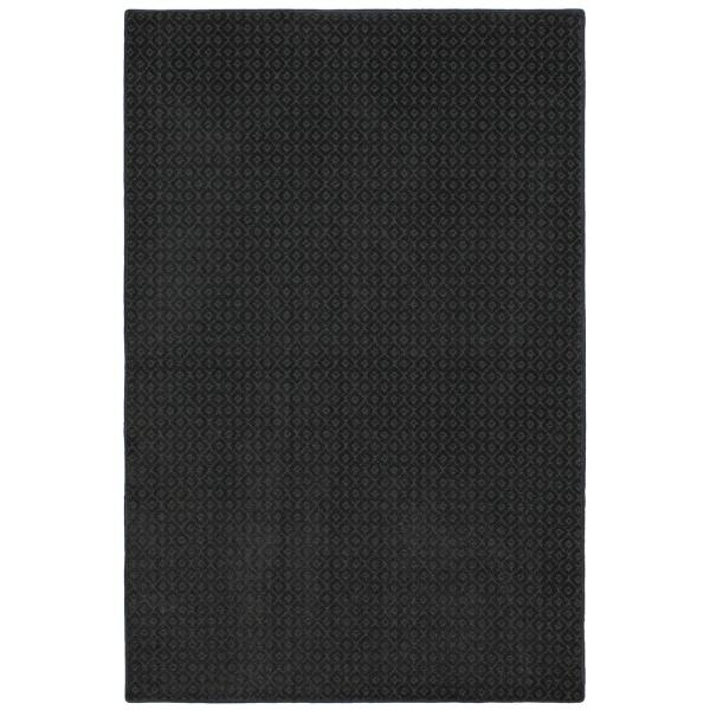 Pattern Sawyer Rough Stone Texture 9 ft. x 12 ft. Bound Carpet Rug