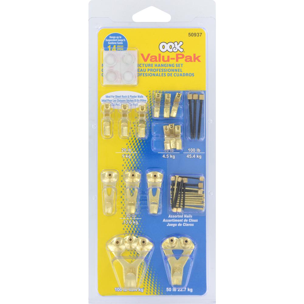 Ook 119 Piece Assorted Nail Kit 59205 The Home Depot