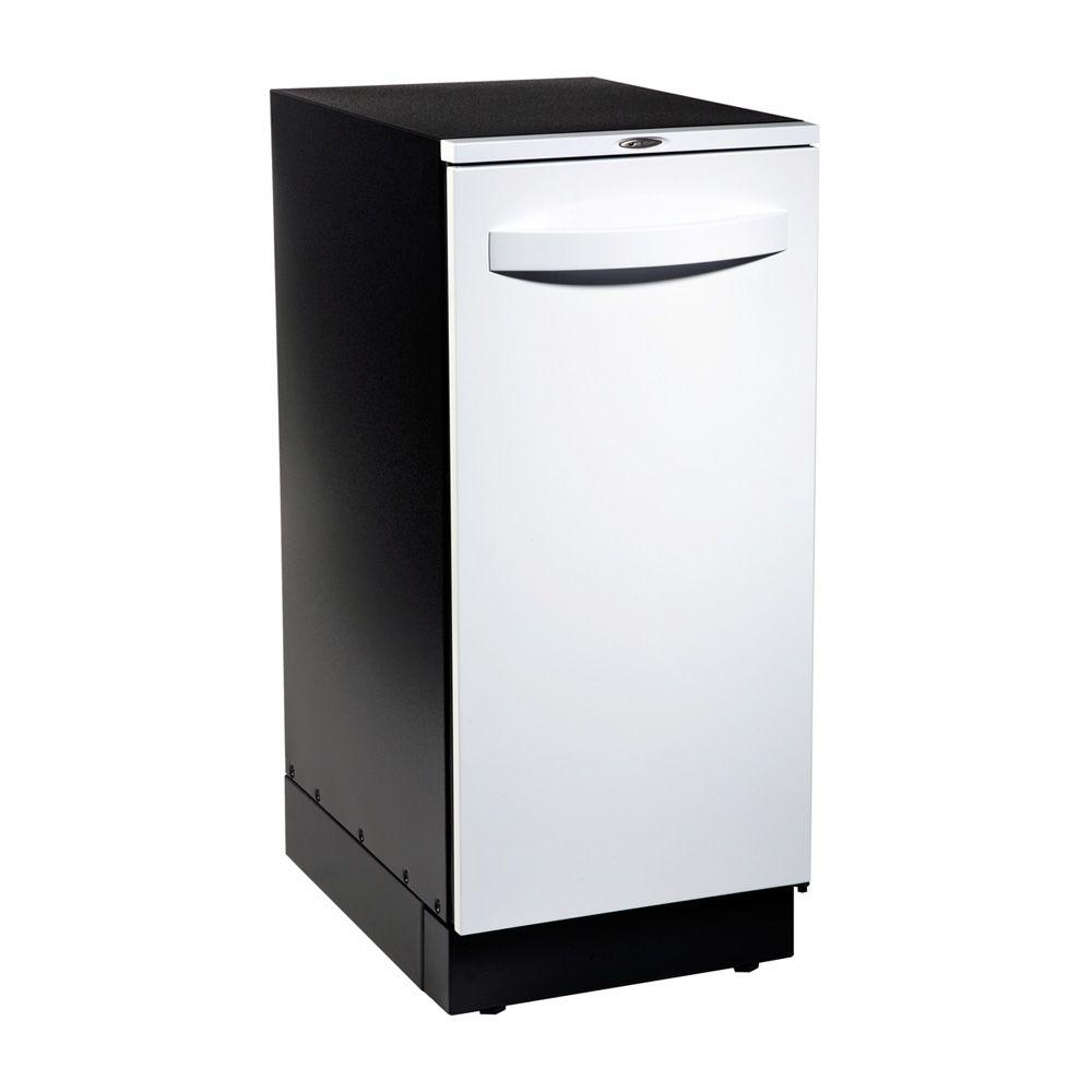 Broan Elite Trash Compactor in White