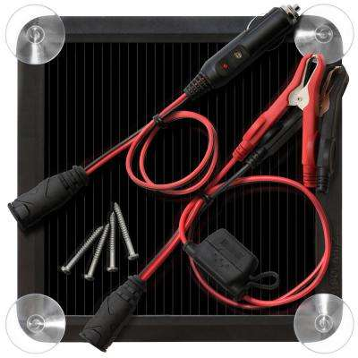 2.5-Watt Solar Battery Charger and Maintainer