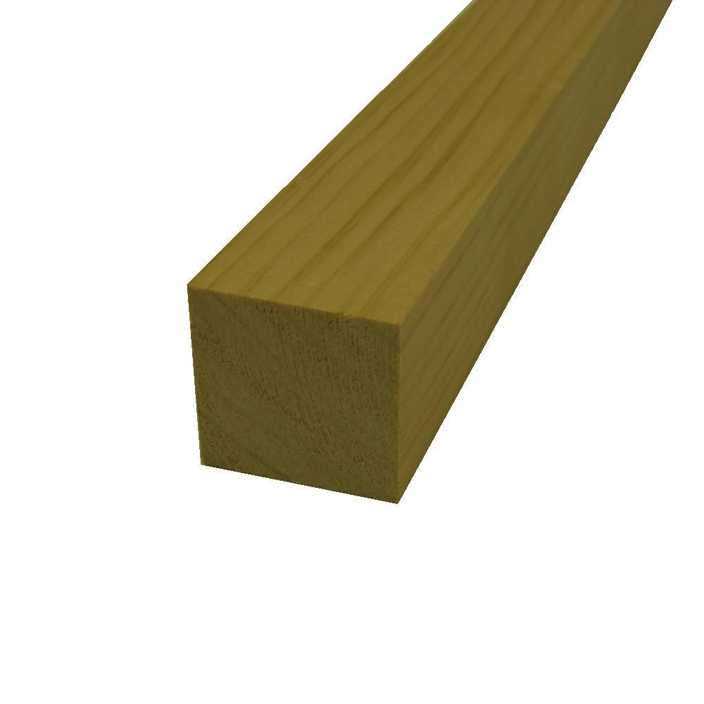 2 in. x 2 in. x 6 ft. Select Pine Board
