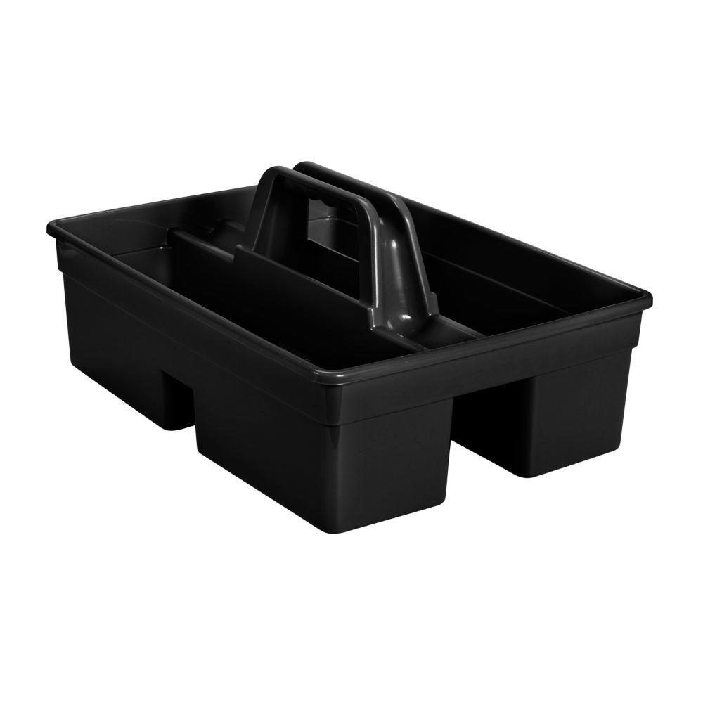 Rubbermaid Black Divided Carry Caddy