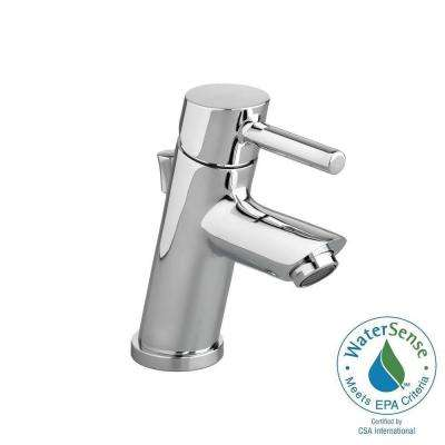 Serin Petite Single Hole Single-Handle Mono-Block Bathroom Faucet with Speed Connect Drain in Polished Chrome