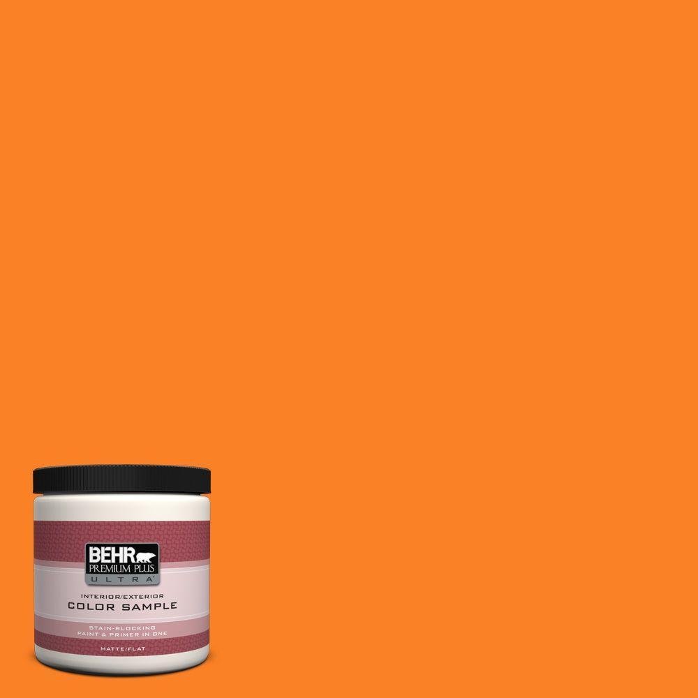 BEHR Premium Plus Ultra 8 oz. #S-G-270 Summer Citrus Interior/Exterior Paint Sample