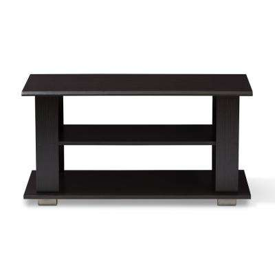 Joliette Wenge Dark Brown Coffee Table