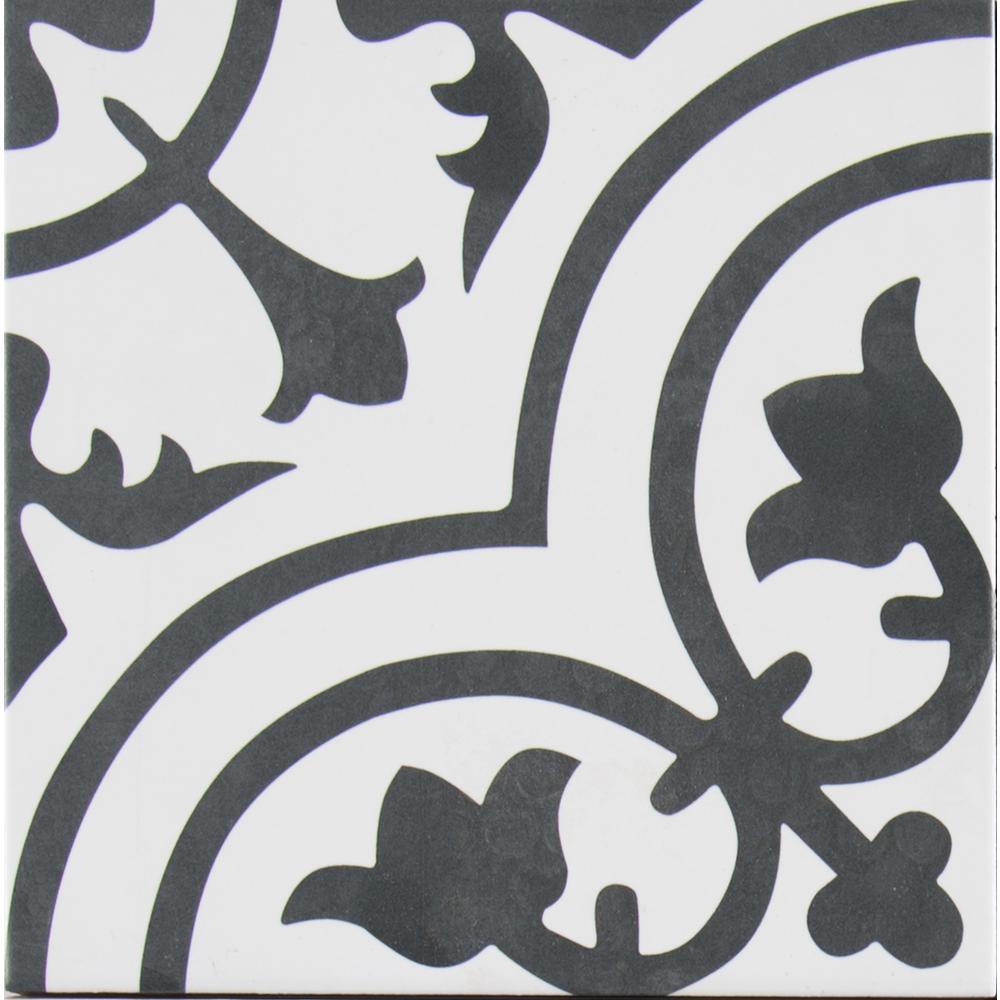 MSI Amantus Encaustic In X In Glazed Porcelain Floor And Wall - Encaustic tile home depot