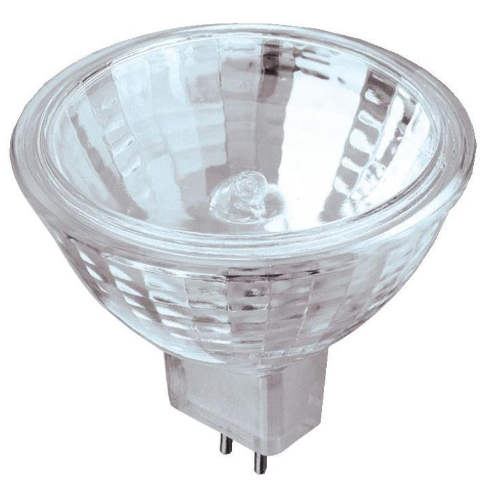 50-Watt Halogen MR16 Clear Lens Low Voltage GU5.3 Base Xenon Flood