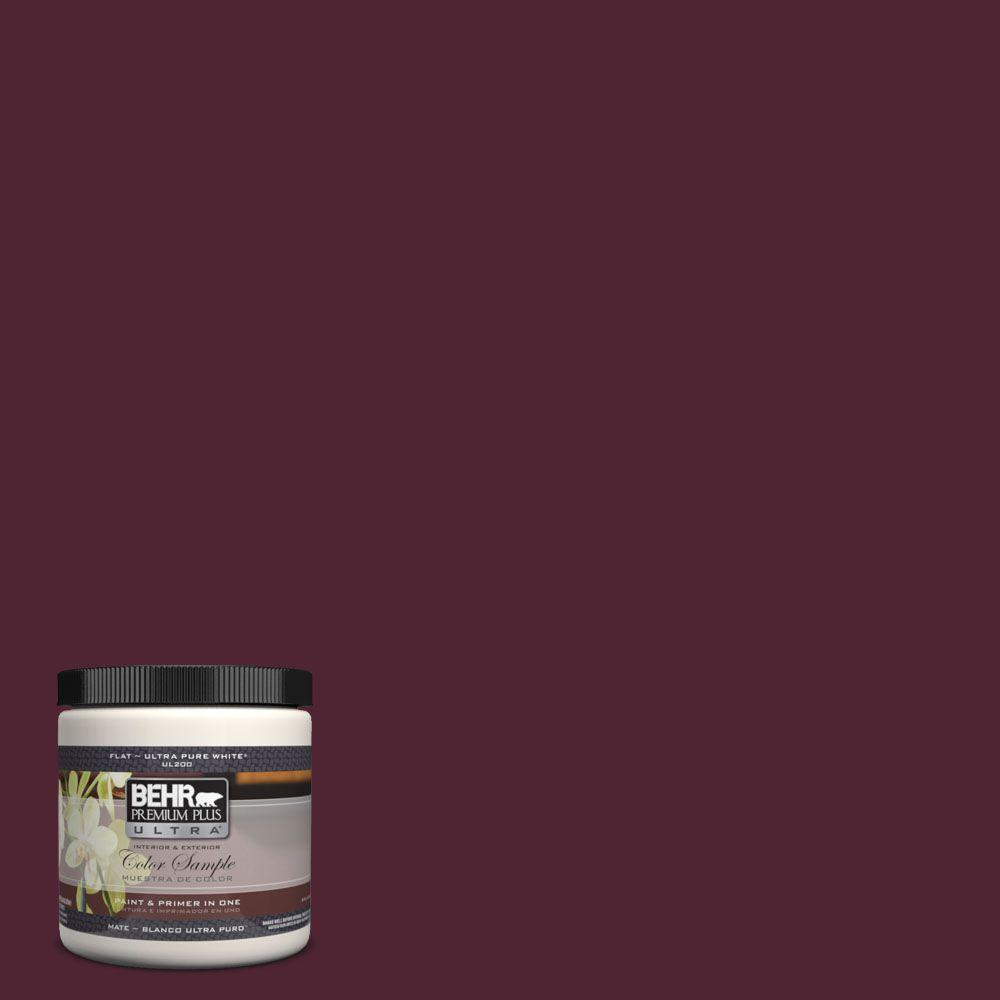 BEHR Premium Plus Ultra 8 oz. #PPH-68 Hibiscus Punch Interior/Exterior Paint Sample