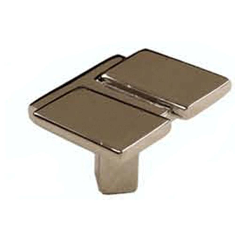 Laurey Division 1-3/8 in. Chrome Cabinet Knob