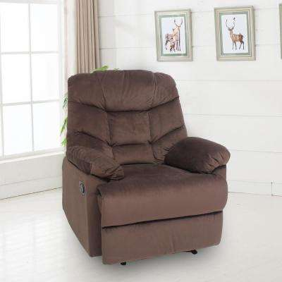 Heritage Chocolate Fabric Recliner