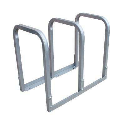 U-Lockit 6-Bike 34 in. Galvanized Surface Mount Bike Rack