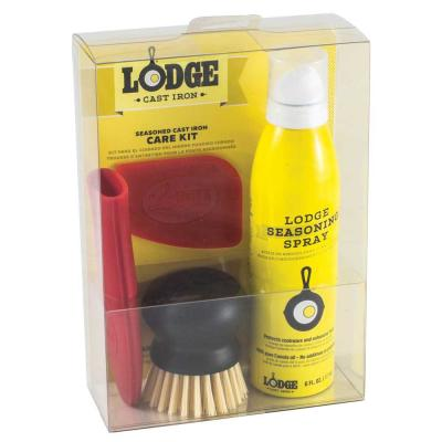 Seasoned Cast Iron Care Kit