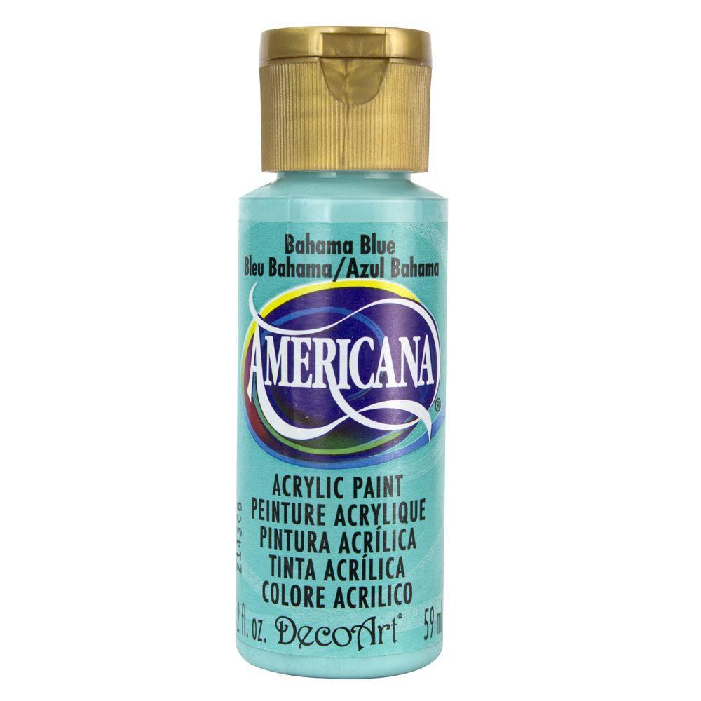 Americana 2 oz. Bahama Blue Acrylic Paint