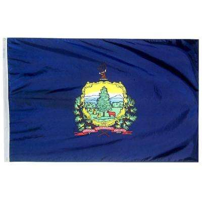 2 ft. x 3 ft. Vermont State Flag