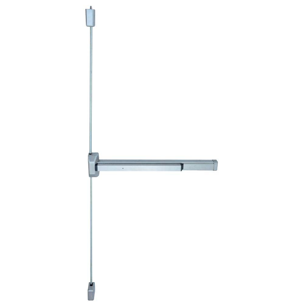 Global Door Controls 48 In Aluminum Narrow Stile Rim Type