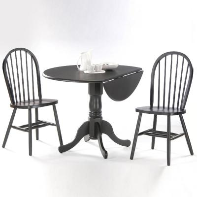 Modern farmhouse dining room shop by room the home depot for International seating and decor windsor