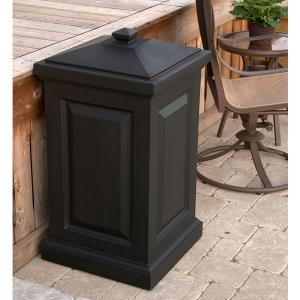 45 Gal. Berkshire Storage Bin in Black by