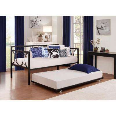 bedroom furniture black. universal daybed twin size trundle in black bedroom furniture