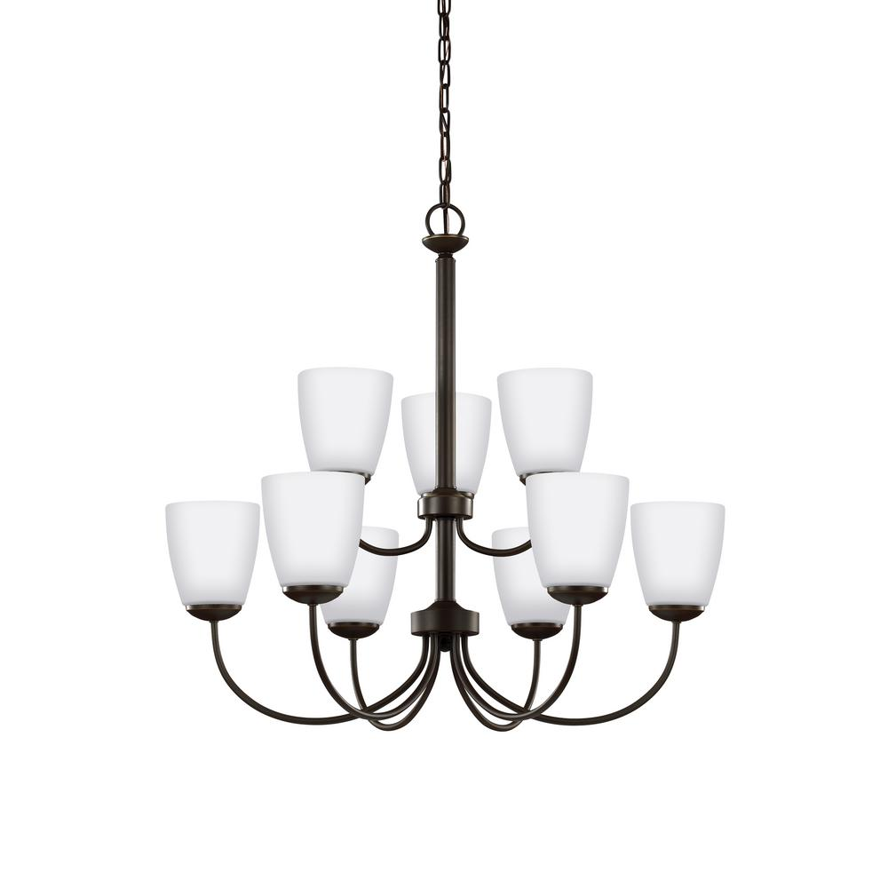 Bannock 9-Light Heirloom Bronze Chandelier