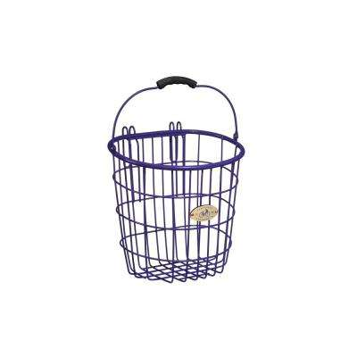 Surfside Rear Wire Pannier Basket in Purple