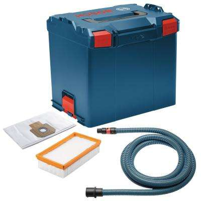 9 Gal. 17.5 in. L x 14 in. W x 15 in. H Pro plus Guard Surfacing Kit with Stackable Tool Storage Hard Case