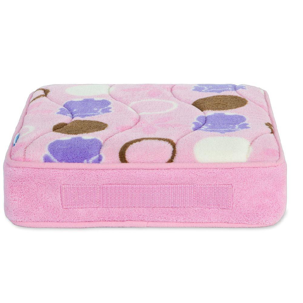 Aquatopia Pink Hippo Memory Foam Tushie Cushion