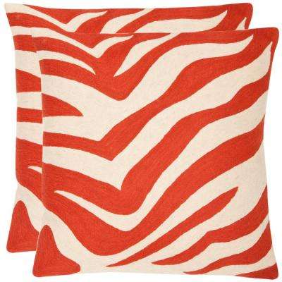 Urban Spice Chainstitch Pillow (2-Pack)