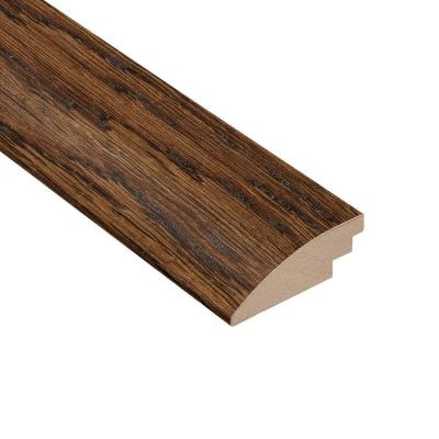 Distressed Montecito Oak 3/8 in. Thick x 2 in. Wide x 78 in. Length Hard Surface Reducer Molding