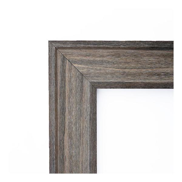 Amanti Art Country 42 In W X 30 In H Framed Rectangular Beveled Edge Bathroom Vanity Mirror In Rustic Barnwood Dsw3941608 The Home Depot