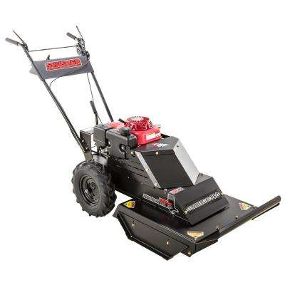 Predator 24 in. 10.2-HP Honda 12-Volt and recoil start Gas Commercial Self Propelled Brush Cutter