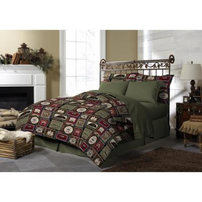 Harper Lodge Reversible Twin Comforter Set (3-Piece)