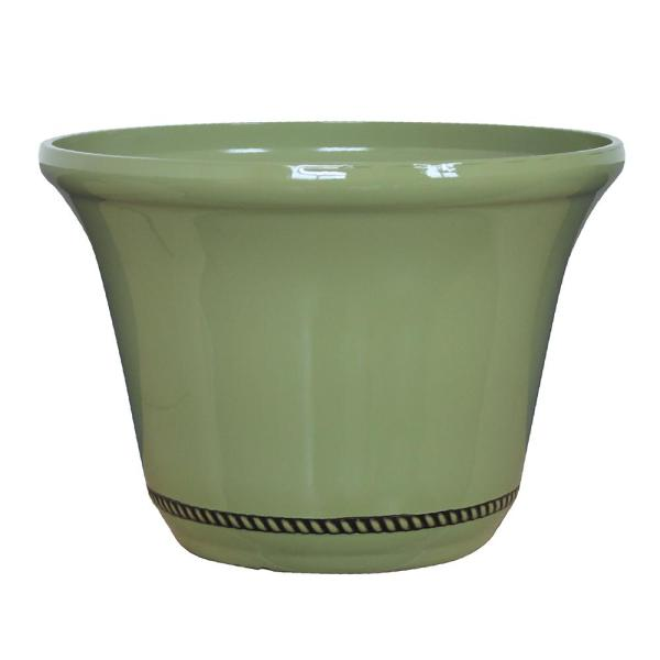 Westbourne Flange 22.5 in. Dia Prairie Resin Planter