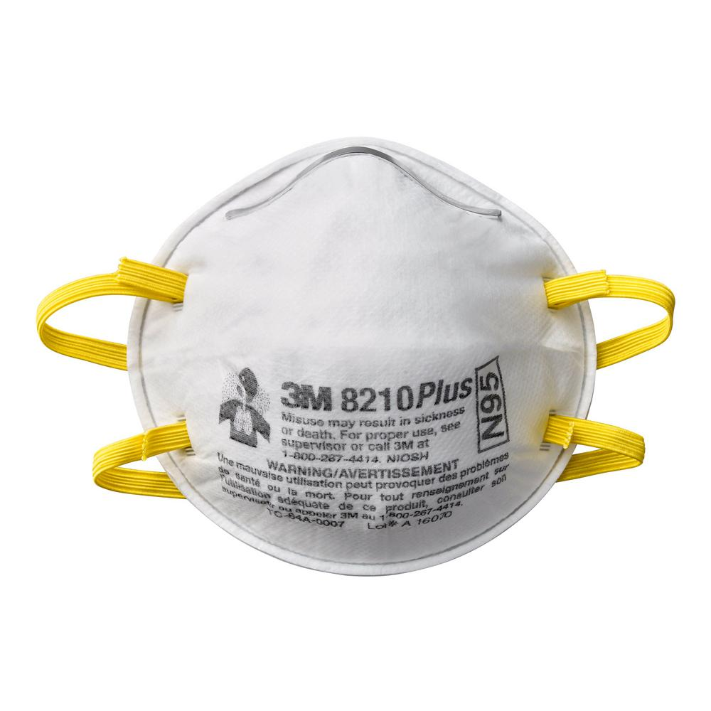 Disposable Plus Performance Sanding and Fiberglass Respirator (3 Eaches/Pack)