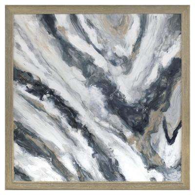Abstract - Framed - White - Canvas Art - Wall Art - The Home Depot