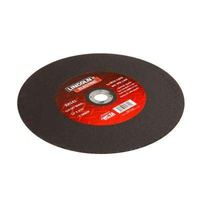 12 in. x 3/32 in. Red 1 in. Arbor Cut-Off Wheel