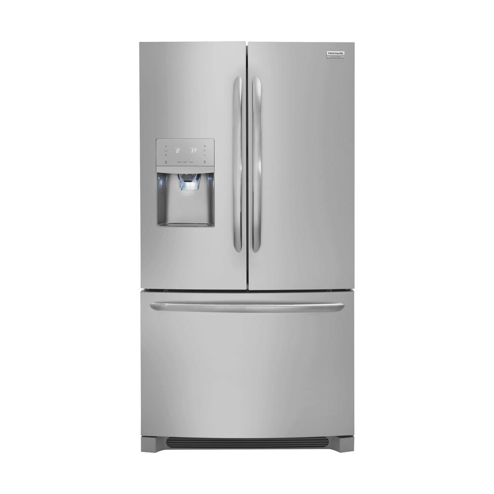 Frigidaire gallery 268 cu ft french door refrigerator in smudge frigidaire gallery 268 cu ft french door refrigerator in smudge proof stainless steel rubansaba