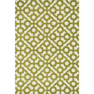 Cassidy Lifestyle Collection Green 5 ft. x 7 ft. 6 in. Area Rug