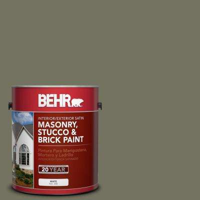 1 gal. #BXC-20 Amazon River Satin Interior/Exterior Masonry, Stucco and Brick Paint