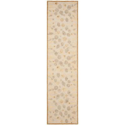 Nutshell/Brown 2 ft. x 10 ft. Runner Rug
