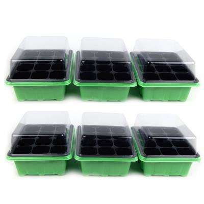 12-Plant Germination Tray and Dome (6-Pack)