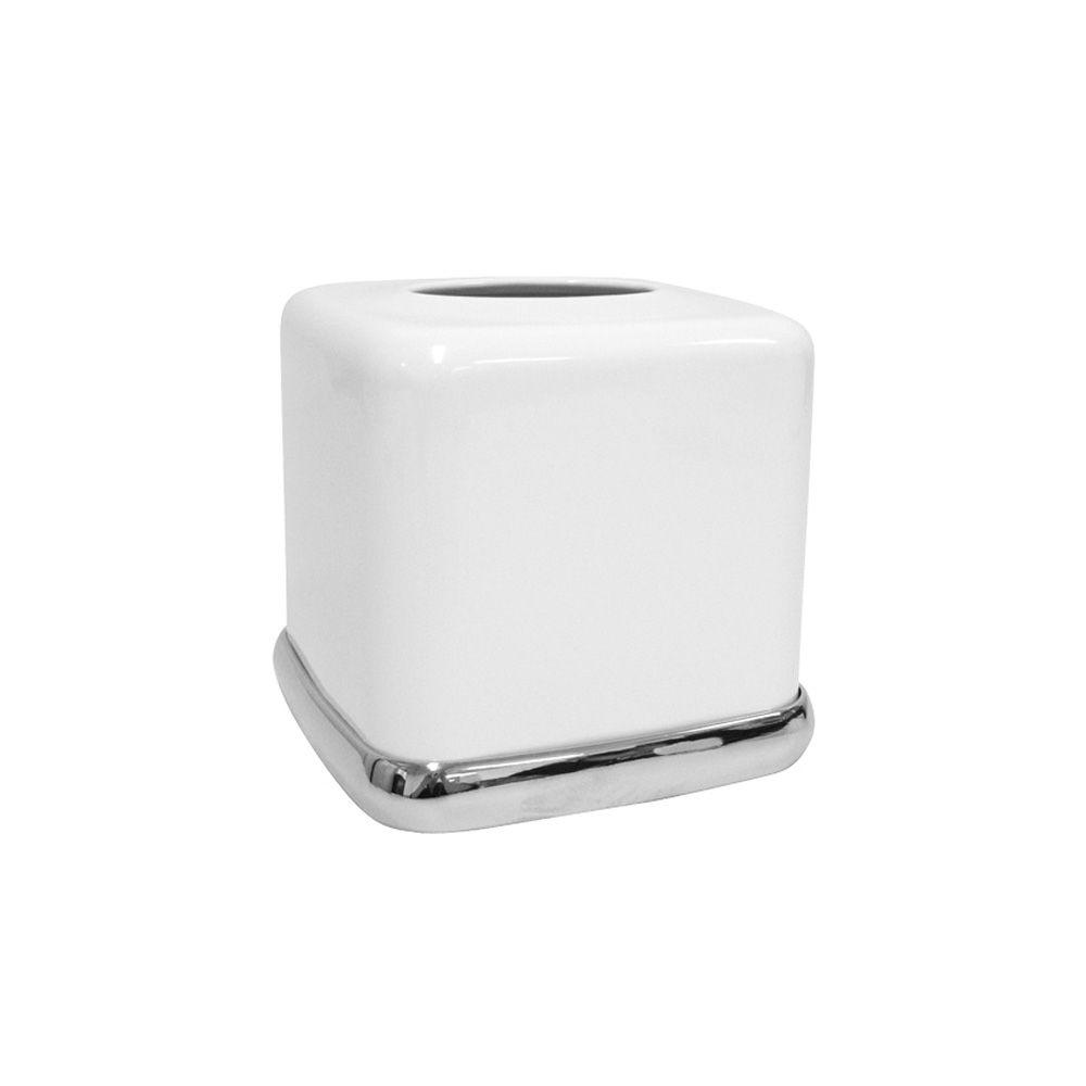 Cero Boutique Box in White & Chrome