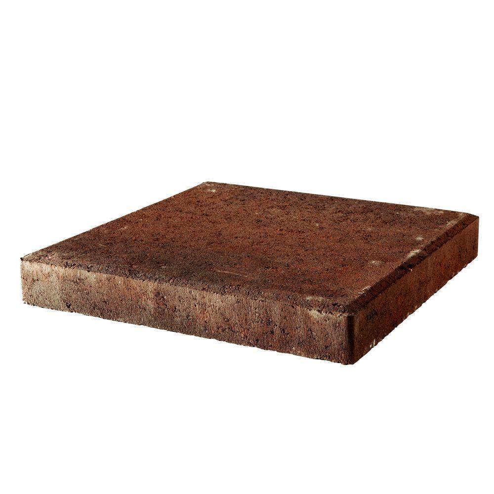 12 in. x 12 in. x 1.5 in. Antique Terracotta Square