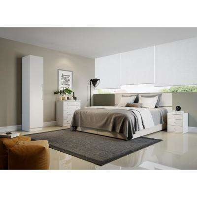 Chelsea. White   Armoires   Wardrobes   Bedroom Furniture   The Home Depot